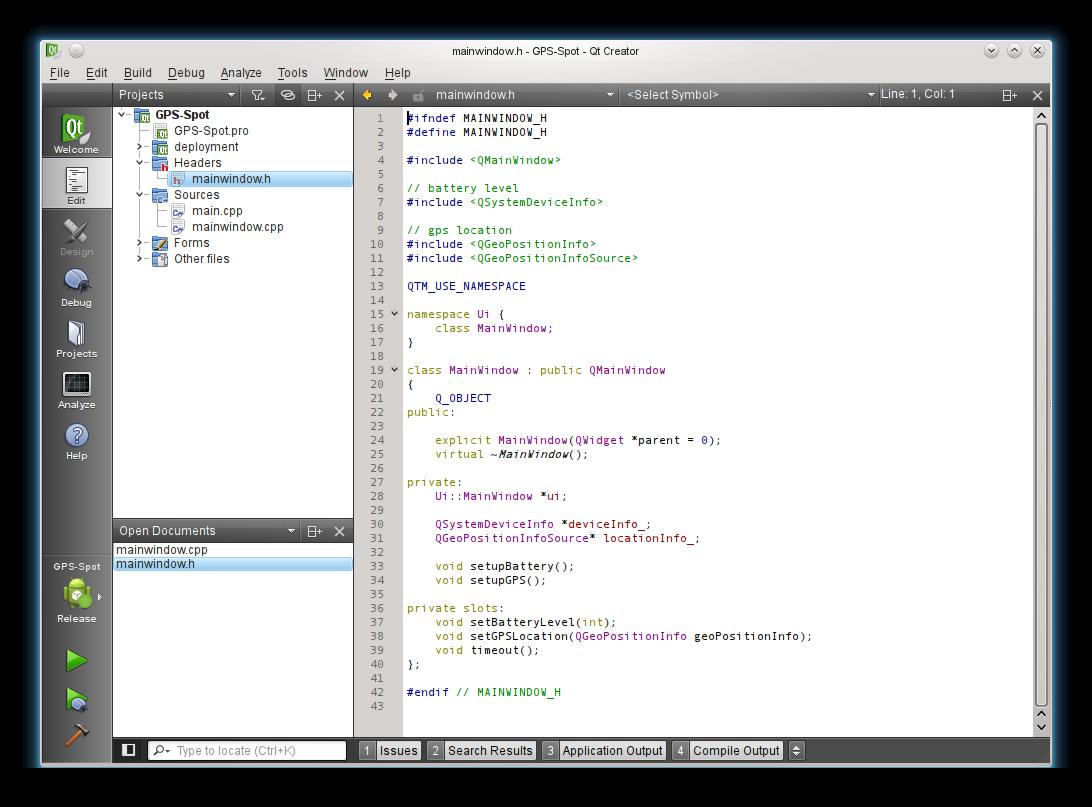 OpenTerrain Tutorials/Necessitas Android-Qt Blog