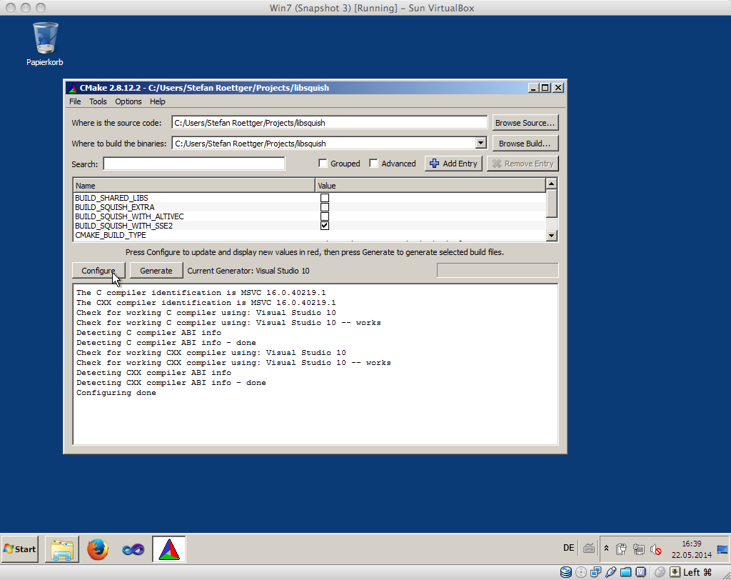 OpenTerrain Tutorials/1, 2, 3, Ubuntu
