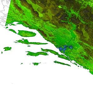 Dalmatia colormap